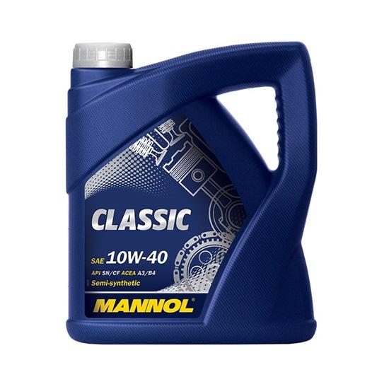 Моторное масло MANNOL CLASSIC SAE 10W40 4Л