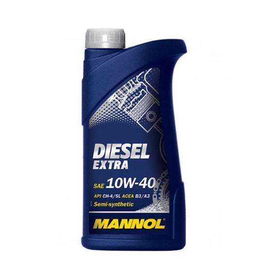 Моторное масло MANNOL DIESEL EXTRA SAE 10W40 1Л