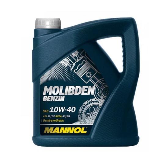 Моторное масло MANNOL MOLIBDEN BENZIN SAE 10W40 4Л