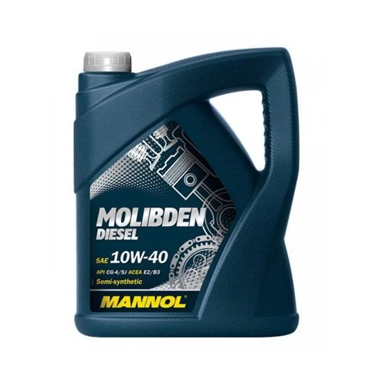 Моторное масло MANNOL MOLIBDEN DIESEL SAE 10W40 5Л