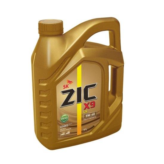 Моторное масло ZIC X9 LS 5W40  DIESEL  1Л