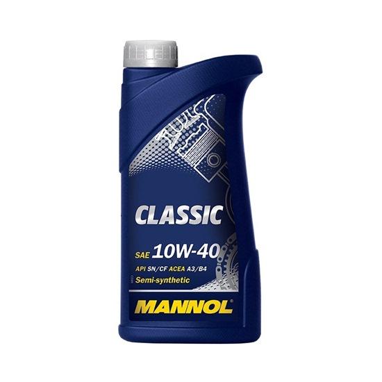 Моторное масло MANNOL CLASSIC SAE 10W40 1Л