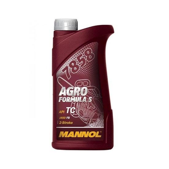 Моторное масло MANNOL 2-ТАКТ AGRO FORMULA S 1Л