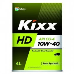 Моторное масло KIXX DYNAMIC 10W40 HD CG-4 4Л П\С ДИЗЕЛЬ