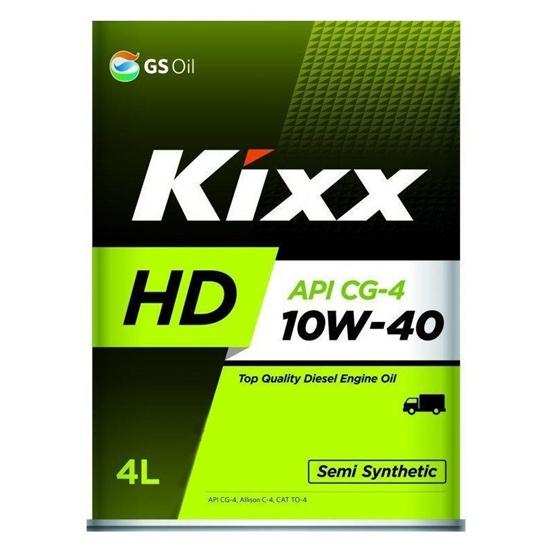 Моторное масло KIXX DYNAMIC 10W40 HD CG-4 4Л П\С ДИЗЕЛЬ