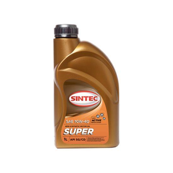 Моторное масло SINTEC СУПЕР 10W40 полусинтетическое 5 Л
