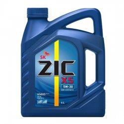 Моторное масло ZIC  X5  5W30 SN П/С 4Л