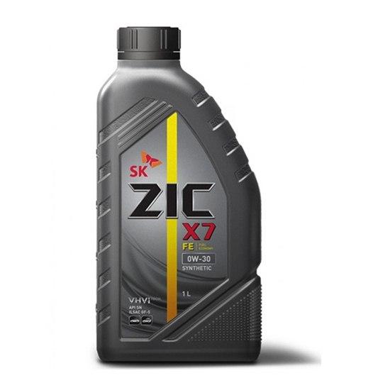 Моторное масло ZIC X7 FE 0W30 SN/ILSAC GF-5  1Л