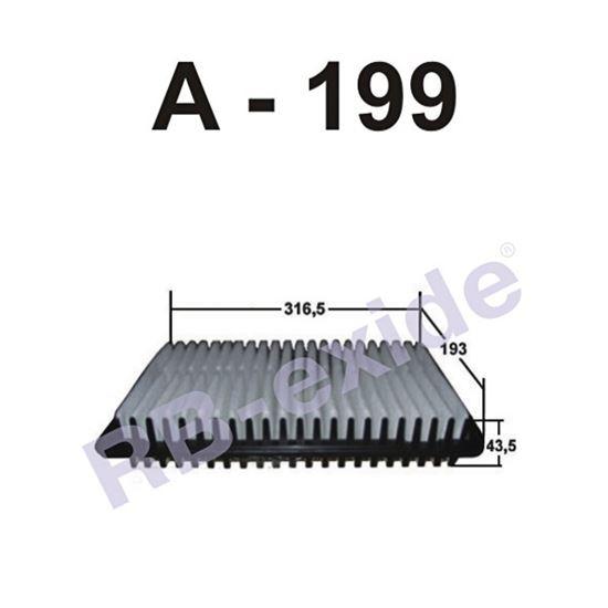 ФИЛЬТР ВОЗДУШНЫЙ А-199 RB-EXIDE