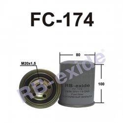 ФИЛЬТР ТОПЛИВНЫЙ FC-174  RB-EXIDE