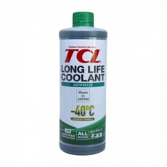 АНТИФРИЗ TCL LLC -40 GREEN  1L