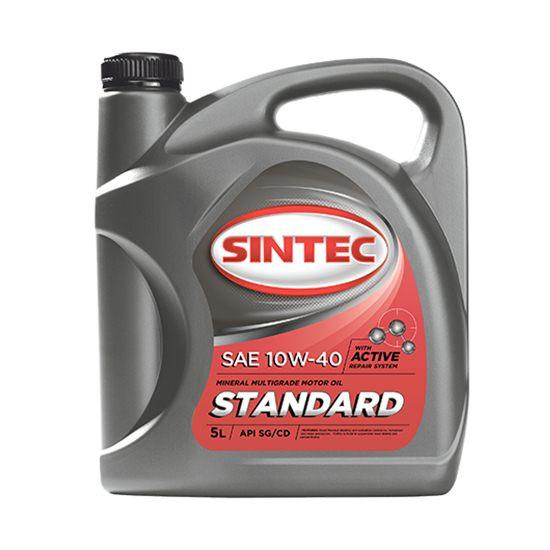 Моторное масло SINTEC СТАНДАРТ 10W40 минеральное 5 Л