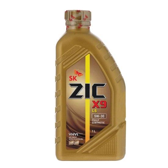 Моторное масло ZIC X9 LS 5W30 SN  1Л