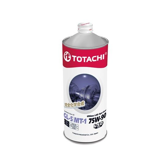 Трансмиссионное масло TOTACHI ULTIMA LSD SYN-GEAR GL-5 75W90 1Л