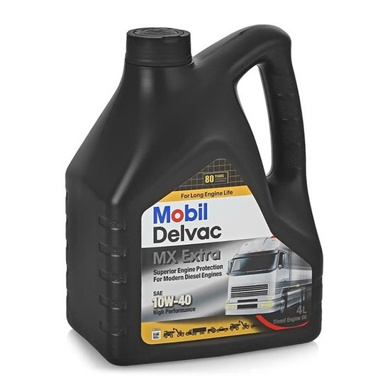 Моторное масло MOBIL DELVAC MX EXTRA 10W40 CI-4/CH-4 П/С 4Л