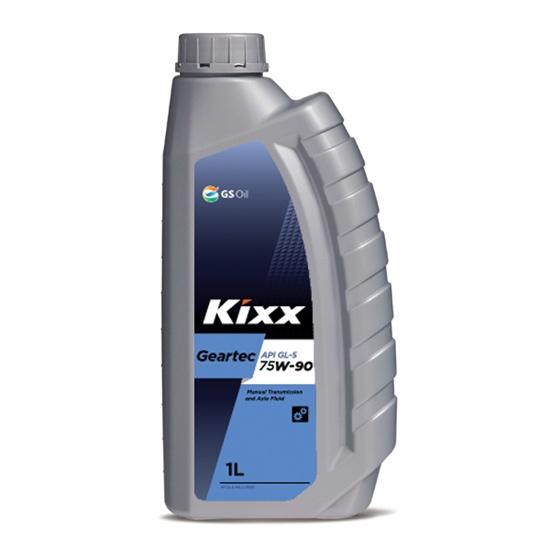 Трансмиссионное масло KIXX GEARTEC GL-5 75W90  1Л