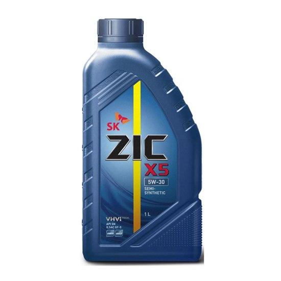 Моторное масло ZIC X5 5W30 DIESEL 1Л