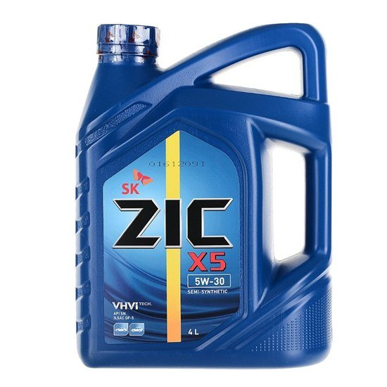 Моторное масло ZIC X5 5W30 DIESEL 4Л
