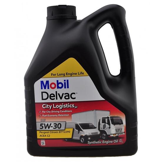 Моторное масло MOBIL DELVAC CITY LOGISTICS 5W30 4л API SM/SL