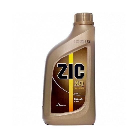 Моторное масло ZIC X9/XQ 0W40 синтетическое 1л