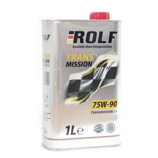 Трансмиссионное масло ROLF SAE 75W90 API GL-4 1Л