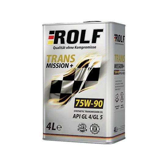 Трансмиссионное масло ROLF SAE 75W90 API GL-4 4Л