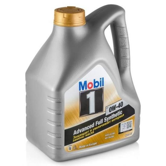 Моторное масло MOBIL 1 FS 0W40 SN/SM 4л