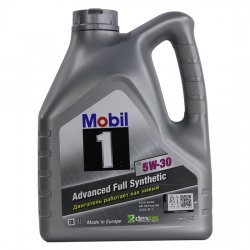 Моторное масло MOBIL 1 X1 5W30 SN/SM 4л