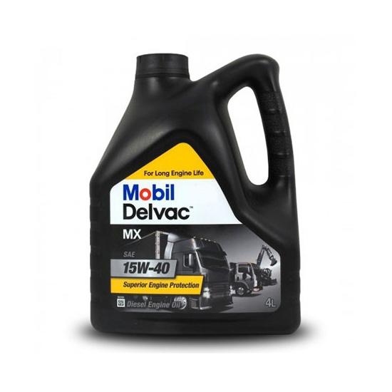 Моторное масло MOBIL DELVAC MX 15W40 API CI-4/CH-4 минеральное 4л