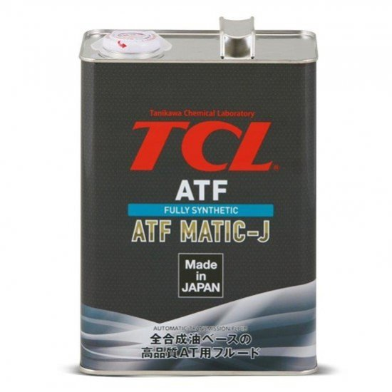 Жидкость для АКПП TCL ATF TYPE T-IV 4Л