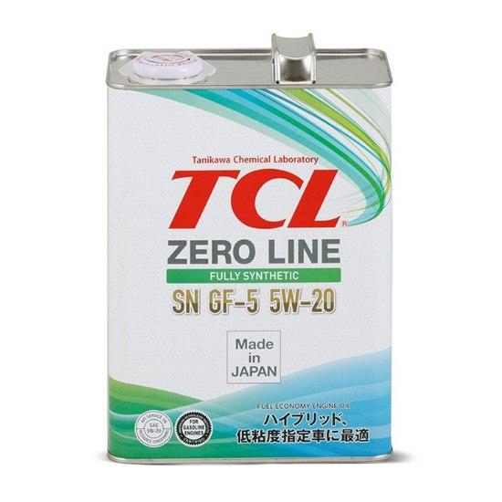 Моторное масло TCL ZERO LINE 5W20 SN/GF-5 4Л