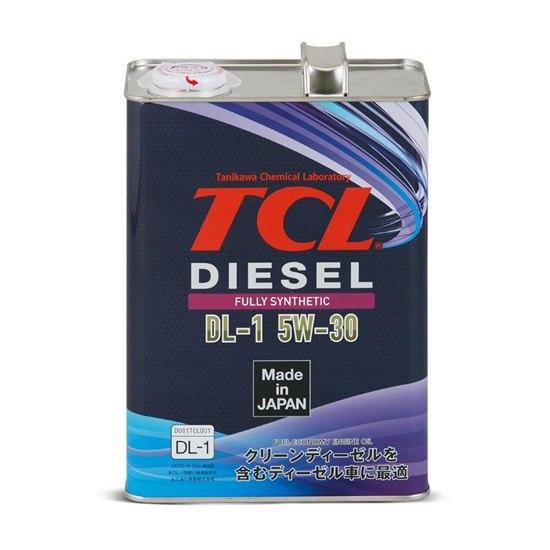Моторное масло TCL DIESEL DL-1 5W30 4Л