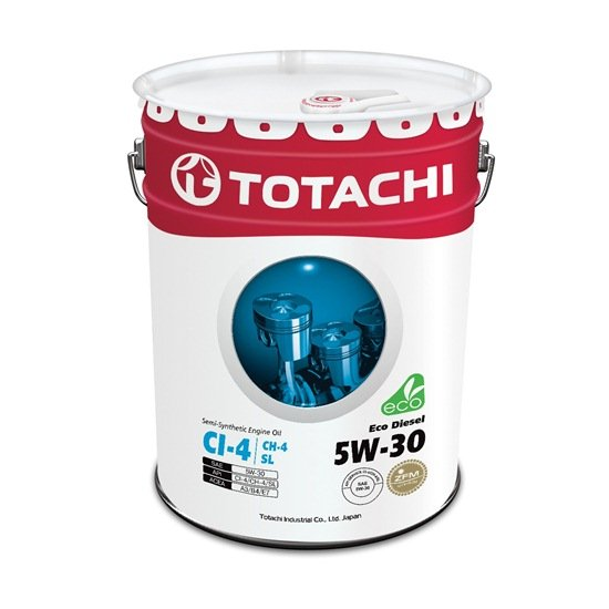 Моторное масло TOTACHI ECO DIESEL 5W30 CI-4/CH-4/SL   20л