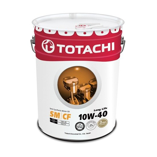 Моторное масло TOTACHI LONG LIFE 10W40 SM/CF 20л