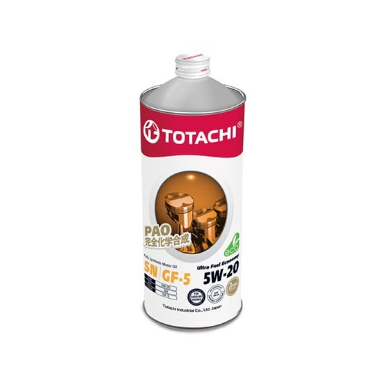 Моторное масло TOTACHI ULTRA FULLY SYNTHETIC 5W20 SN 1л
