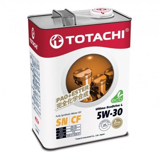 Моторное масло TOTACHI ULTIMA EcoDrive L 5W30 SN/CF 4л