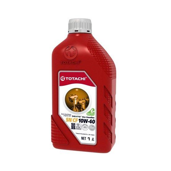 Моторное масло TOTACHI DENTO ECO GASOLINE 10W40 SN/CF  1л
