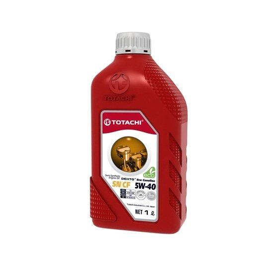 Моторное масло TOTACHI DENTO ECO GASOLINE 5W40 SN/CF  1л