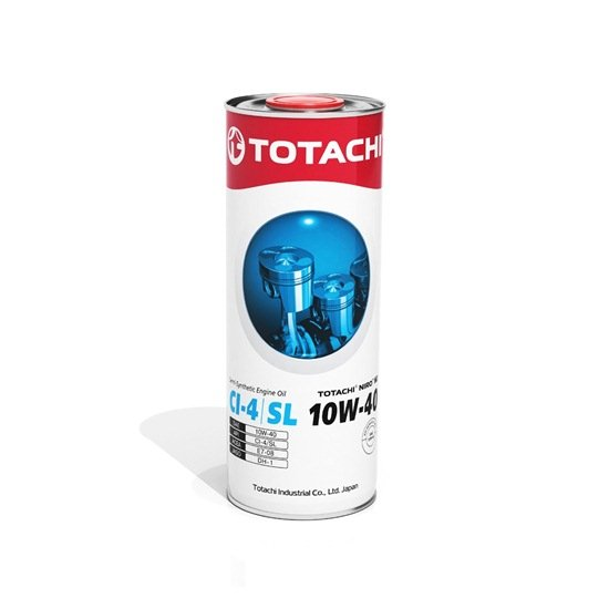 Моторное масло TOTACHI NIRO HD SEMI-SYNTHETIC 10W40 CI-4/SL 1л