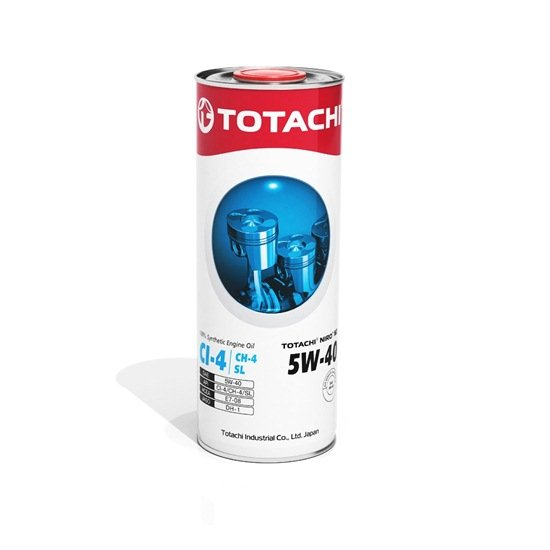 Моторное масло TOTACHI NIRO HD SYNTHETIC 5W40 CI-4/SL 1л