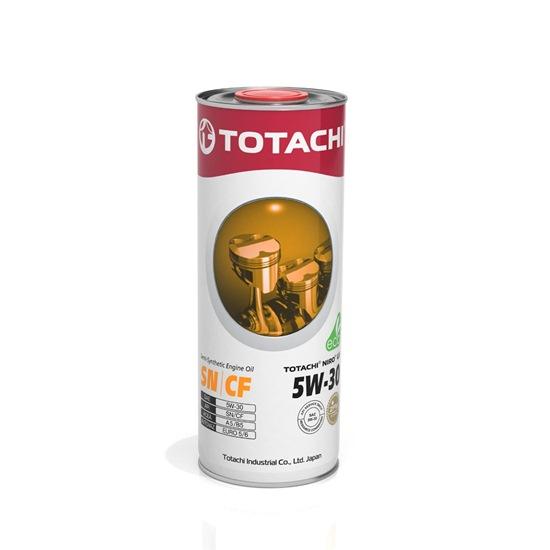 Моторное масло TOTACHI NIRO LV SEMI-SYNTHETIC 5W30 SN/CF 1л