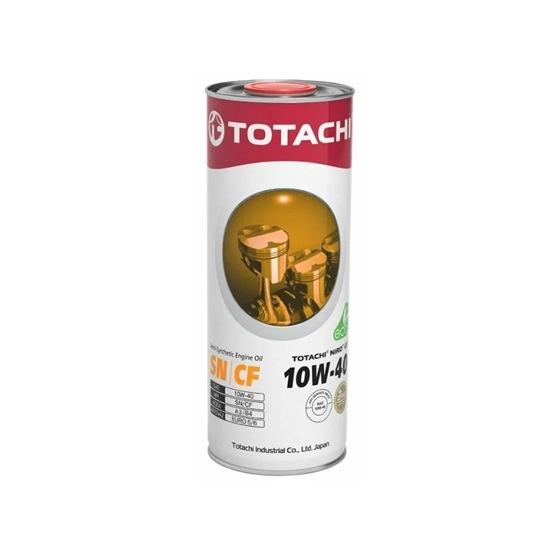 Моторное масло TOTACHI NIRO LV SEMI-SYNTHETIC  10W40 SN/CF 1л