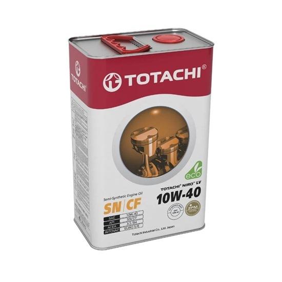 Моторное масло TOTACHI NIRO LV SEMI-SYNTHETIC  10W40 SN/CF 4л