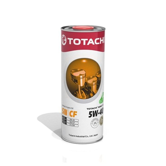 Моторное масло TOTACHI NIRO LV SYNTHETIC 5W40 SN/CF 1л