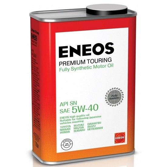 Моторное масло ENEOS SN PREMIUM TOURING 5W40 СИНТЕТИКА 1Л
