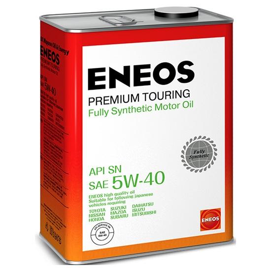 Моторное масло ENEOS SN PREMIUM TOURING 5W40 СИНТЕТИКА 4Л