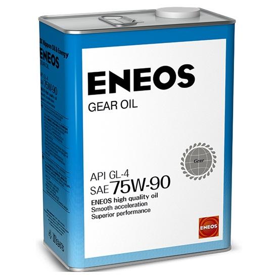 Масло трансмиссионное ENEOS GEAR GL-4 75W90 4 Л