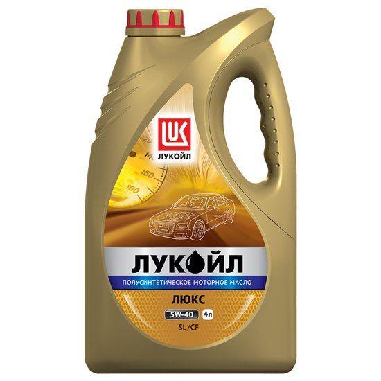 Моторное масло ЛУКОЙЛ ЛЮКС SAE 5W40 SL/CF    полусинт 4л