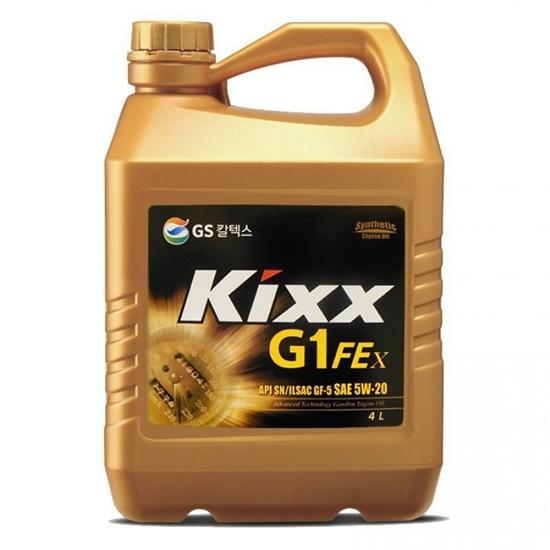 Моторное масло KIXX G1 FE 5W20 SN PLUS 4Л