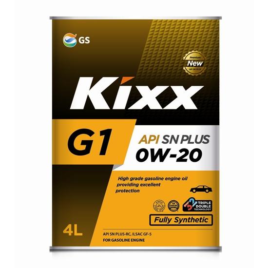 Моторное масло KIXX G1 0W20 SN PLUS 4Л